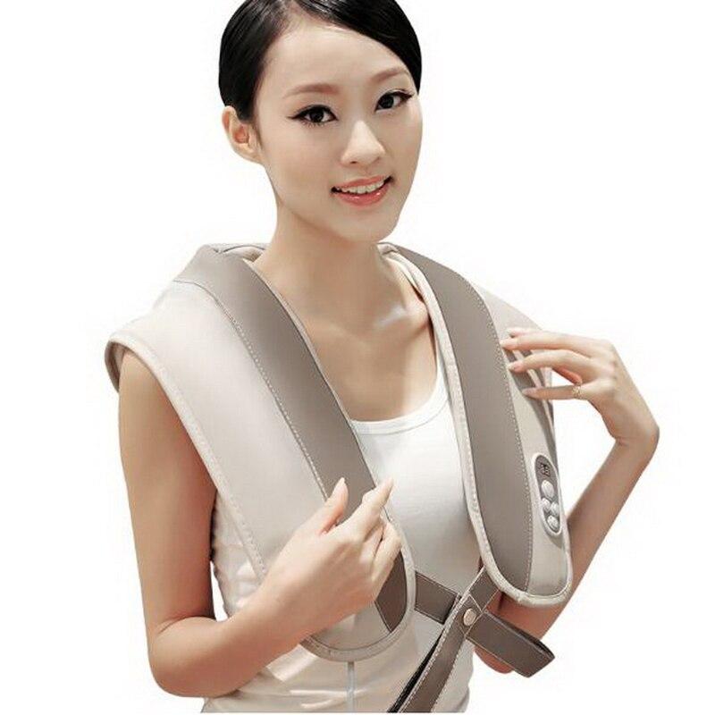 121202/Electric Massage.Machine Shoulder Neck Massage.Shawl Car Home Dual-use Acupuncture Kneading Neck Shoulder Massager<br>