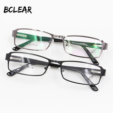 BCLEAR Most fashion full rim alloy spectacle frames with spring hinge comfortable wearing eyeglasses for men 1958