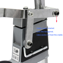 Bench Drill Press Stand DIY Tool Double Clamp Base Frame Drill Holder Dremel Electric Drill Stand Power Rotary Tools Accessories