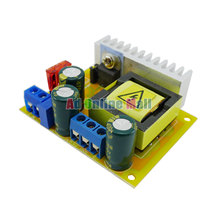 plus or minus 45-390V DC-DC High Voltage Single Boost Buck Converter CC Adjustable Output Voltage Power Supply Step Up Module