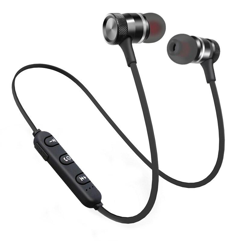 SWZYOR LY-11 Metal Sports Bluetooth Headphone SweatProof Earphone Magnetic Earpiece Stereo Wireless Headset for Mobile Phone 4