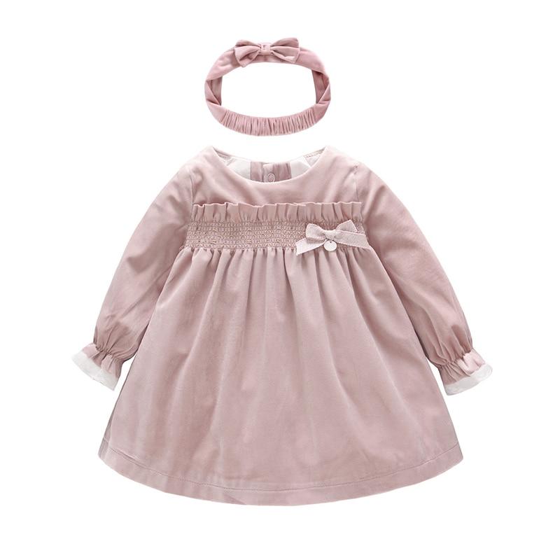 New toddler girls cotton sleeveless dress Burgundy or Brown 3-24 month