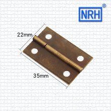 Furniture Hardware Antique Cabinet Solid Brass Hinge Classical Cabinet Doors Pure Copper Hinge Bronze Brass Hinge