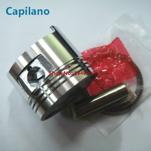 motorcycle piston kit CG150 diameter 62mm with gold color Mag-titanium piston ring for Honda CG 150 parts of 150cc