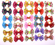 20pcs/10pairs Pet Dog Puppy Cat Hair Bows Beautiful Butterfly Dog Grooming Hair Accessory Pet Suppliers(China)