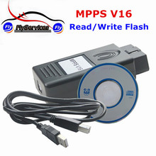 2017 Professional MPPS K Can Flasher ECU Chip Tuning Tool MPPS V16 Read&Write Flash High Recommended MPPS V16 Chip Tuning