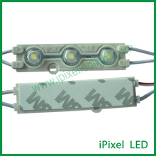 Samsung Injection 12v smd5630 high power LED module with lens size: 66*16*2mm
