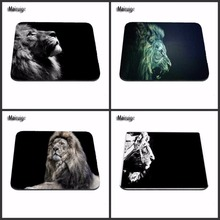 High Quality Hot 2017 Hot Low High Quality Glowing Lion And Tiger Pattern Durable Mini Optics Computer Rectangular Mouse Pad