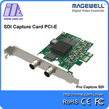 China Manufacturer Magewell Pro Capture SDI HD Video Capture Board 1080p Linux Capture Software Support Multiple Cards