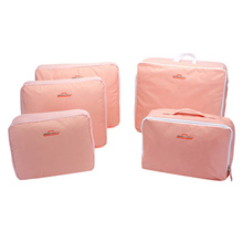 5pcs/set Oxford Travel Clothes Storage Bag Portable Garment Closet Organizer Cosmetic Shoes Box Accessories Supplies Products(China)