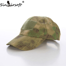 SINAIRSOFT Hiking Male Hat Summer Camping Man's Camouflage Tactical Hat Army Fishing Bionic Baseball Cadet Military Cap