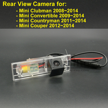 Car Rear View Camera for Mini Clubman Convertible Countryman Couper 2008 2009 2010 2011 2012 2013 2014 Reversing Parking Camera