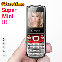 Original FORME T3 Super mini phone Russian Keyboard phone!  Metal back cover unlocked mobile cell phone