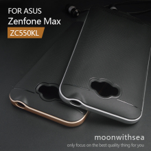 Case For Asus Zenfone Max ZC550KL (5.5 inch) amazing 2 in 1 hybrid high quality PC+TPU material luxury mobile phone back cover