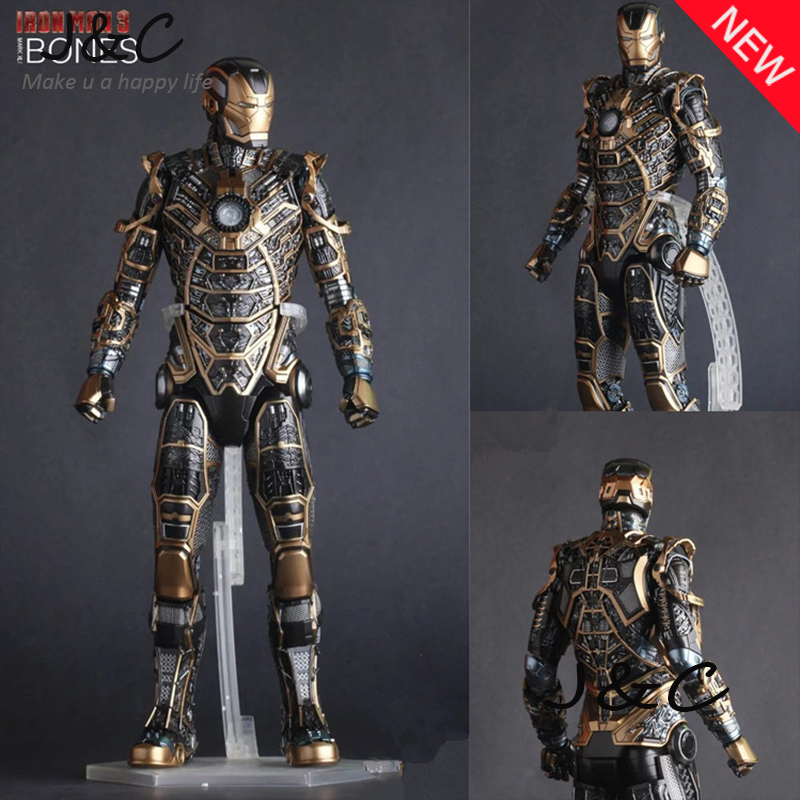Hot The Avengers IronMan Action Figure 30cm MK41 Iron Man Doll PVC ACGN figure Toy Brinquedos Anime kids toys<br>