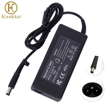 KWOKKER Power Supply 19V 4.74A 7.5x5.0mm AC Adapter Charger For hp Laptop G4 DV3 DV4 DV5 DM4 6515B 8710P NC2400 NX6115