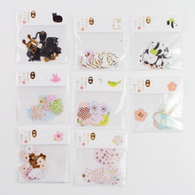 30 Pcs/pack Lovely cartoon rabbit/Origami/Panda/Cherry blossom Decorative Stickers Scrapbooking Label DIY Diary Stickers(China)