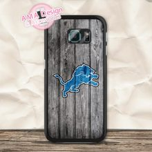 Detroit Lions American Football Sport Case For Galaxy S8 S7 S6 Edge Plus S5 mini S4 active Core Prime A7 A5 Win Ace Note 5 4(China)