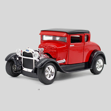1/24 Scale 1929 FORD MODEL A Alloy Car Model Toys Diecast Toy Vehicles Collection Kids Toys Gift Red