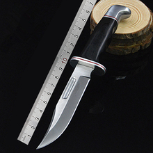 PEGASI New Outdoor Camping Tactical Fixed Blade Chromium Steel 7CR17MOV Hunting Knives Tool