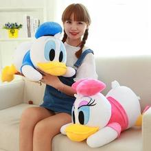 Hold Pillow On The Daisy's Donald Duck Dolls Plush Toys Doll Children Birthday Present Large Woman 40/50cm
