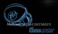 LD466- Miami Dolphins Helmet Coors LED Neon Light Sign home decor crafts(China)