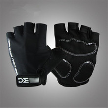 Summer Unisex Bicycle Gloves Men Sports Half Finger Anti Slip Gel Pad Motorcycle S-XL MTB Road Bike Mountain Cycling Glove G061