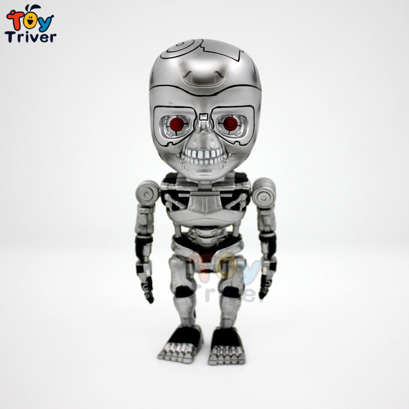 14cm T800 Terminator Robot PVC Action Figure Collectible Model Toy Christmas gift for boy man movie lover  Triver Toy<br><br>Aliexpress