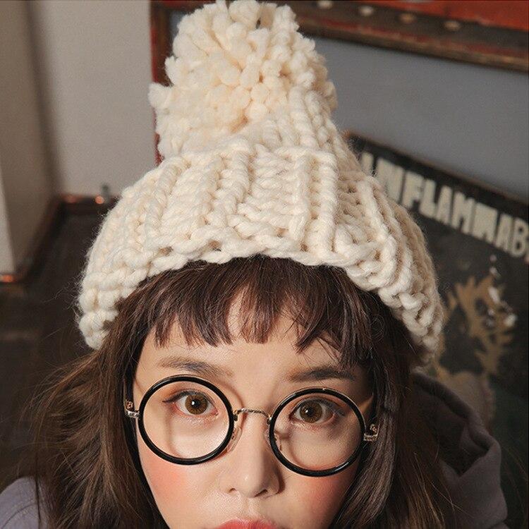 Kesebi 2016 Autumn Winter Women Warm Korean Style Solid Color Hats Female Casual Knitting Cute Outdoor Hat Skullies BeaniesÎäåæäà è àêñåññóàðû<br><br><br>Aliexpress