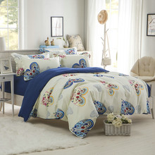 Plaid  Simple High Quality  Bedding Set Thicken Butterfly Reactive Printing 4 pieces  Bedding set  Home Bedding Decoration