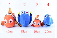 Movie Finding Plush Fish Clownfish Nemo Stuffed & Plush Animals Toys Stuffed Finding Nemo Plush Doll Plush Toys