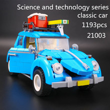 Creator Series City Car Beetle Building Blocks 10252 lepin technic bricks 21003 action figure vehicle toys children - Fun Of Store store
