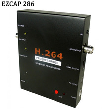 EZCAP 286 1080P HD SDI HDMI Video Game Capture Video Card Recorder Box Support USB Flash Disk HDD SD Card No Need PC/Computer