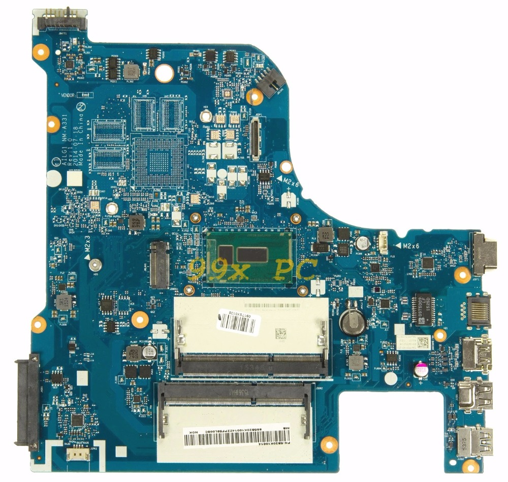 Laptop Motherboard FOR Lenovo G70-80 Laptop Motherboard W/ I5-5200U CPU AILG1 NM-A331 DDR3L Test ok