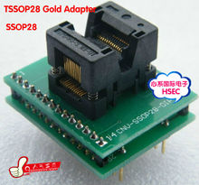 Top Quality TSSOP28 to DIP28  Adapter socket / TSSOP24 TSSOP20  TSSOP8 Adapter  IC Test Socket Programmer adapter  0.65mm Pitch