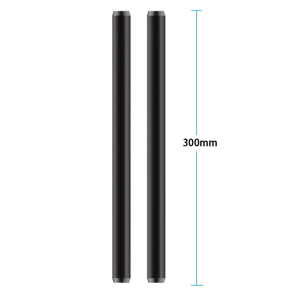 CAMVATE 15mm Aluminum Rod 30cm For DLSR Camera Cage Rig 2 Pack (5)
