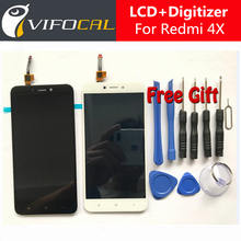 Xiaomi Redmi 4X LCD display Touch Screen Test Good Digitizer Assembly Replacement For Xiaomi Redmi 4X Pro 5.0 inch Mobile Phone