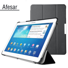 Buy Cover Samsung Galaxy Tab Pro 10.1 SM-T520 T525 T521 smart Case UltraSlim Stand book Cover Case SM P600 P601 P605 for $10.63 in AliExpress store