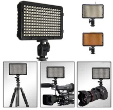 Portable 176 LED Video Digital Photography Lighting Flash Fill Light Lamp with 2 Filter For Canon For Sony DSLR Camera Camcorder