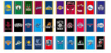 30pcs NBA team fans bar decorative string flag hanging flags  football club custom flags of all nations string flag