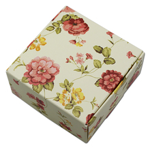 50Pcs/Lot Handmade Soap Packaging Paper Box Party Favor Jewelry Small Gift Craft Boxes Kraft Paper Candy Chocolate Packing Boxes