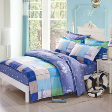 modern preppy style sport trend fitted sheets sets linens 100% cotton flat sheet multi size bedding sets coverlets