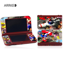 ARRKEO Racing Kart Vinyl Cover Decal Skin Sticker for Nintendo New 3DS XL & New 3DS LL Console Skins S