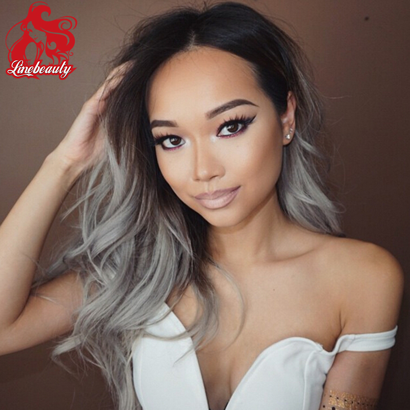Natural Wave Heat Resistant Synthetic Lace Front Fashion Gray Wig Japan Fiber Kanekalon Wig Grey Cheap Wig<br><br>Aliexpress