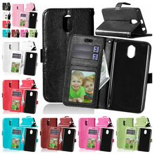 For Lenovo Vibe P1m Crazy Horse PU Leather Case for Lenovo P1mc50 P1ma40 Dual Sim Flip Wallet Cover Phone Case with Card Holder