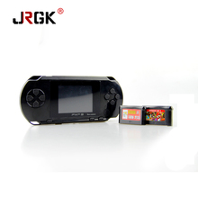 4 Colors PXP3 Slim Station Pocket Game Kids Student 16-Bit Video Games Player Handheld Game Console+Free Game Card