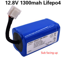 12.8V 1.3Ah LifePo4 battery rechargeable battery pack for Floor sweeper FC8700 FC8603 vacuum cleaner sweeper original battery