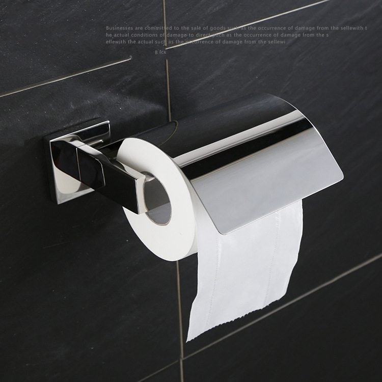 Distinctive High quality 304 stainless steel Bathroom toilet paper holder Roll holder,Brushed Nickel<br>