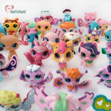 10PCS/Set Anime Littlest Action Figure Toy For Kids Pet Cat Dog Story Toy Animal Model Figurines Shop For Girl Child Loose Pet