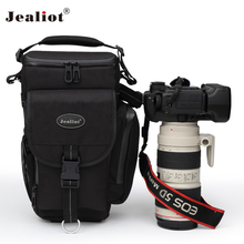 2017 Jealiot Professional Camera bag shoulder lens Bag waterproof digital camera Video Photo case for DSLR Canon free shipping(China)